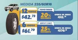 LLANTA TOYO TIRES 235/60R16 100H PARA GRAND VITARA
