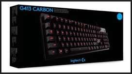 Teclado mecanico logitech G413 carbon
