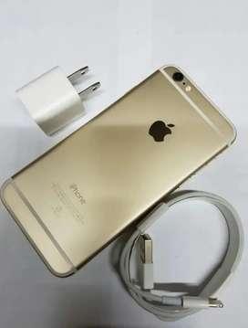 IPHONE 6 GOLD, 64 GB.