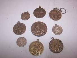 Antigua Medalla Visita Juan Pablo  Ll