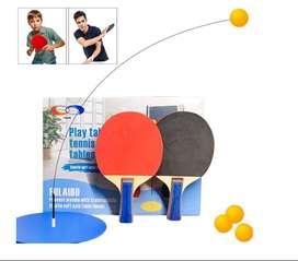 Set De Raquetas De Ping-pong + 4Bola