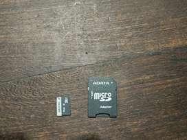 Memoria micro SD de 16 Gb