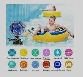 Camara HD para niños sumergible deportes camara webcam