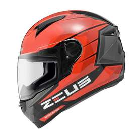 Casco Zeus 811 AL11 Rojo para Motociclistas