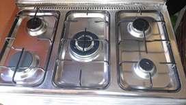 Cocina Klimatic a Gas  modelo Donna 5 Hornillas