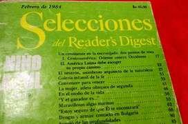 REVISTAS SELECCIONES EDICIONES: DESDE EL AÑO 1943 AL 2011