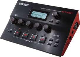 Procesador Boss GT-001 Efectos Guitarra Electrica