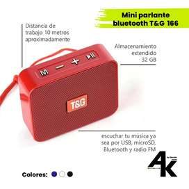 Mini Parlante Bluetooth TG 166