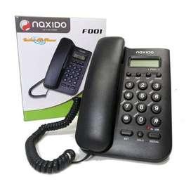 TELEFONO FIJO IDENTIFICADOR - teléfonos de línea ENVÍO GRATIS
