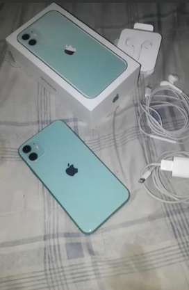 Vendo iphone 11 de 128gb color verde agua