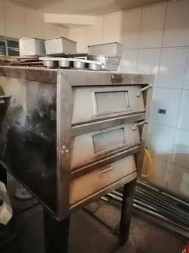 Horno de panadería gas propano