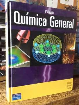 Química general de petrucci color octava edición pasta dura más de 1200 hojas muy buen estado