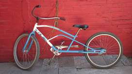 Bici chopera-Detalles superficiales-customizada