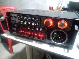 Bello amplificador 4 canales