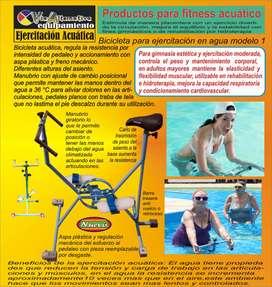 Bicicleta Acuática para ejercicio, rehabilitación y 3 edad
