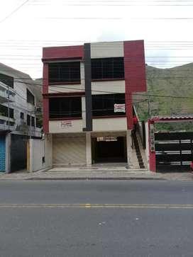 Arriendo departamento y locales comerciales en Baños (Ulba)