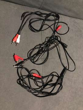 Cable para audio RCA