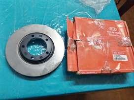Discos de Freno Delanteros x2 Kia Motors