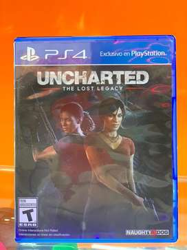 Juego uncharted the lost legacy ps4 usado