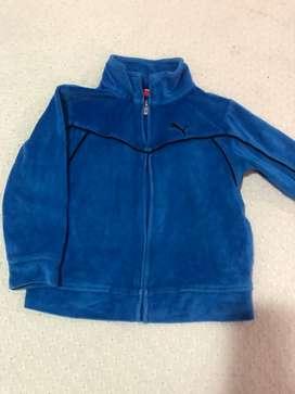 Chaqueta Puma color azul talla 3
