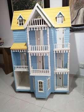 Espectacular casa de muñecas