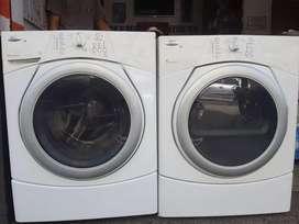 Lavadora y secadora whirlpoo duet 35 libras.excelente estado