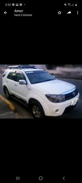 Toyota fortuner 4x4 mecánico 2.7 cc flamante
