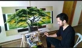 Clases de pintura al oleo personalizadas