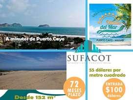 Venta de Lotes Playeros en Puerto Cayo Urbanización Privada | SD2