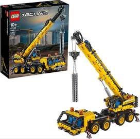 LEGO Technic Mobile Crane 42108 Building Kit A Super Model to Build for Any Fan of Construction Toys New 2020 1,292 Piec