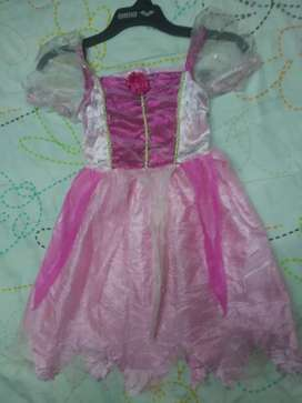 Disfraz de princesa talla 2 rosado