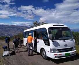 Alquiler de transporte turistico para viajes confortables