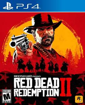 Red Dead Redemption 2 Playstation 4 Ps4, Físico