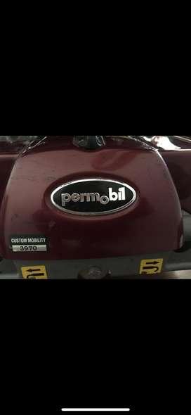 Vendo silla de ruedas electrica  marca Permobil