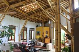 Alquilo casa ecologica, con amplio jardin en entorno natural, a 15 minutos de distancia del centro de Esmeraldas