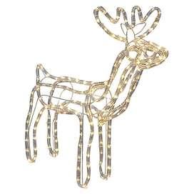 Vendo renos grandes de navidad con luces led para exteriores