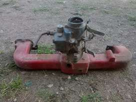 Multiple con carburador , para motor chevrolet