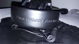 Vendo diademas american audio y microfono