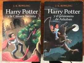 2 libros de Harry Potter