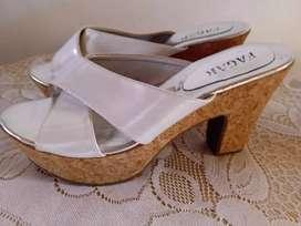 Zapatos para mujer tacón plataforma americanos