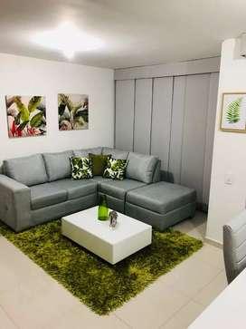 En venta hermoso sofa en L, Jeff de Jamar, con garantía hasta abril, como NUEVO!