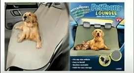 Forro protector pasa sillas de carro o auto pet zoom para mascotas cojineria