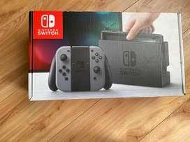 Nintendo swicht caja blanca