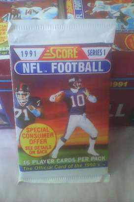 1991 Nfl Football Card Packs