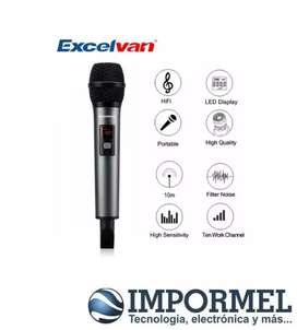 Microfono Wireless Inalambrico Usb Excelvan K18v Bluetooth