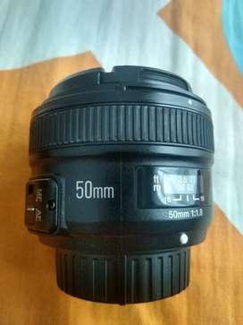 Lente 50mm Youngnou Nikon