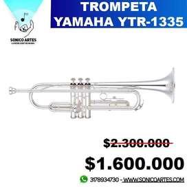 Trompeta Yamaha YTR-1335 Plateada