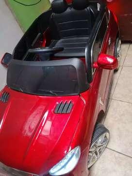 Carro de batería recargable