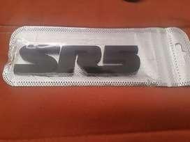 Se vende emblemas Toyota TRD Y SR5 metálicas
