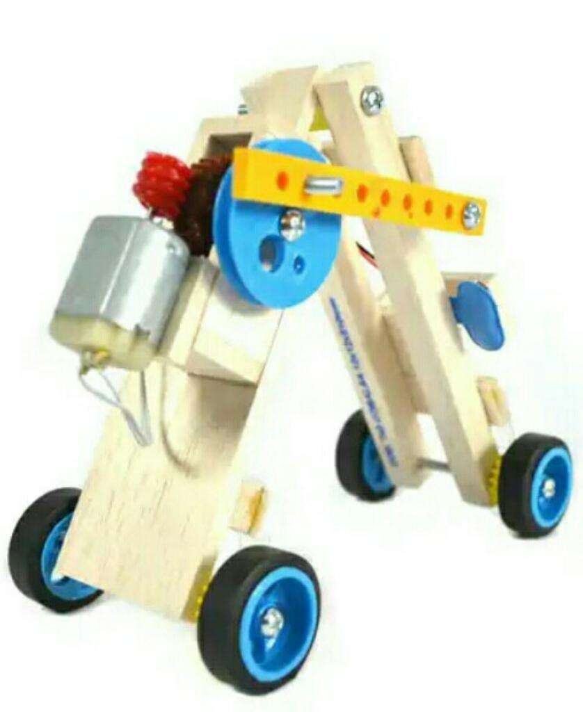 Maqueta Robot Gusano medidor